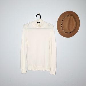 Ralph Lauren Size S Cream Turtle Neck